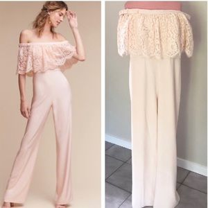 Anthropologie BHLDN Theia Mila Jumpsuit NWOT